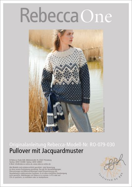 Anleitung - Jacquard-Pullover