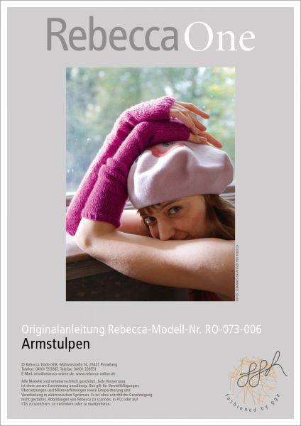 Strickanleitung - Armstulpen