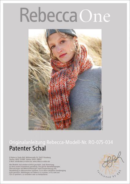 Strickanleitung - Patenter Schal