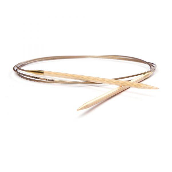 Rundstricknadel Bambus - 60 cm