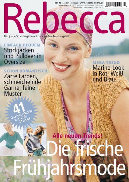 Rebecca Heft Nr. 33